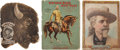 Western Expansion:Cowboy, Three Buffalo Bill's Wild West Programs, 1898, 1900, and 1902....(Total: 3 Items)