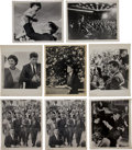 Political:Small Paper (1896-present), John F. Kennedy: Group of Jacques Lowe Photographs....