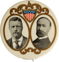Political:Pinback Buttons (1896-present), Theodore Roosevelt: Handsome Large Jugate....