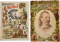Western Expansion:Cowboy, Two Buffalo Bill's Wild West Programs, 1887 and 1895.... (Total: 2Items)