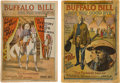 Western Expansion:Cowboy, Two Buffalo Bill Final Salute Wild West Programs for 1910 and 1911.... (Total: 2 Items)