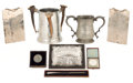 Silver Holloware, British:Holloware, MALCOLM S. FORBES COLLECTION: COLLECTION OF VICTORIAN AND LATERTROPHIES RELATED TO BOAT RACES DATED FROM 1855 TO 1931. 9 ...