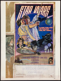"""Star Wars (20th Century Fox, 1977). Poster (30"""" X 40"""") Style D. Science Fiction"""