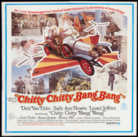"Chitty Chitty Bang Bang (United Artists, 1969). Six Sheet (81"" X 81""). Fantasy"