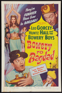 """Bowery to Bagdad (Allied Artists, 1954). One Sheet (27"""" X 41""""). Comedy"""