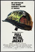 "Movie Posters:War, Full Metal Jacket (Warner Brothers, 1987). One Sheet (27"" X 41"").War.. ..."