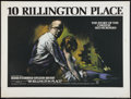 "Movie Posters:Crime, 10 Rillington Place (Columbia, 1971). British Quad (30"" X 40"").Crime.. ..."
