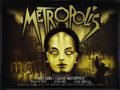 "Movie Posters:Science Fiction, Metropolis (Eureka, R-2003). British Quad (30"" X 40""). ScienceFiction.. ..."