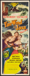 "Movie Posters:Adventure, Fair Wind to Java (Republic, 1953). Insert (14"" X 36""). Adventure....."