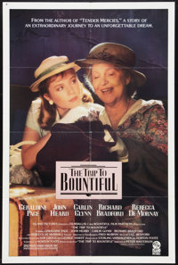 "The Trip to Bountiful (Island Pictures, 1985). One Sheet (27"" X 41""). Drama"