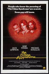 """The China Syndrome (Columbia, 1979). International One Sheet (27"""" X 41""""). Thriller"""