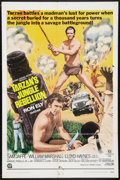 "Movie Posters:Adventure, Tarzan's Jungle Rebellion (National General, 1970). One Sheet (27""X 41""). Adventure.. ..."