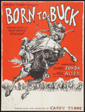 "Movie Posters:Documentary, Born to Buck (American National Enterprises, 1971). Poster (30"" X 40""). Documentary.. ..."