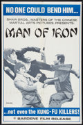 "Movie Posters:Action, Man of Iron (Bardene, 1972). One Sheet (27"" X 41""). Action.. ..."
