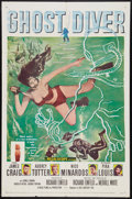 "Movie Posters:Adventure, Ghost Diver (20th Century Fox, 1957). One Sheet (27"" X 41"").Adventure.. ..."