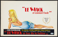 "The Knack ...and How to Get it (Lopert, 1965). Belgian (13.25"" X 21.25""). Comedy"