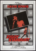 "Movie Posters:Rock and Roll, Ziggy Stardust and the Spiders from Mars (20th Century Fox, 1983).Italian 2 - Foglio (39"" X 55""). Rock and Roll.. ..."