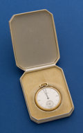 Timepieces:Pocket (post 1900), Concord 14k Gold 12 Size Pocket Watch With Original Jewelers' Box....
