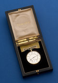 Timepieces:Pocket (post 1900), Howard 14k Gold 12 Size Pocket Watch With Original Box. ...