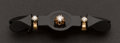 Estate Jewelry:Brooches - Pins, Victorian Diamond & Onyx Pin. ...