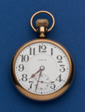 Timepieces:Pocket (post 1900), Illinois Rare 21 Jewel 16 Size Sangamo Special Bridge Model Pocket Watch. ...