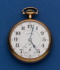 Timepieces:Pocket (post 1900), Illinois 21 Jewel 16 Size Bunn Special Pocket Watch. ...