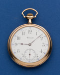 Timepieces:Pocket (post 1900), Howard 17 Jewel 12 Size Pocket Watch. ...
