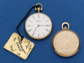 Timepieces:Pocket (post 1900), Two Swiss 12 Size Pocket Watches Runners. ... (Total: 2 Items)