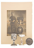 Decorative Arts, British:Other , MALCOLM S. FORBES COLLECTION: COLLECTION OF TROPHIES ANDMEMORABILIA RELATED TO MARKSMANSHIP DATED FROM 1864-1923. Marks:s... (Total: 4 Items)
