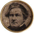 Political:Ferrotypes / Photo Badges (pre-1896), Millard Fillmore: 1856 Campaign Ferrotype....