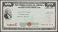 Baseball Collectibles:Others, 1949 Joe DiMaggio U.S. Savings Bond....