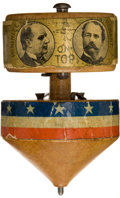 Political:3D & Other Display (1896-present), William McKinley: 1896 Campaign Top....