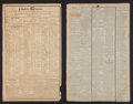Miscellaneous:Newspaper, George Washington: Newspaper Death Notices.... (Total: 7 Items)