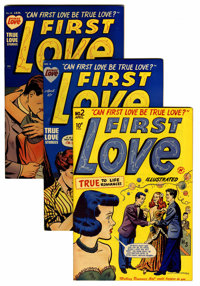 First Love Illustrated File Copies Group (Harvey, 1949-63) Condition: Average VF.... (Total: 79 Comic Books)