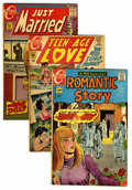 Silver Age (1956-1969):Romance, Comic Books - Assorted Silver Age Romance Comics Group (Various,1960s) Condition: Average VG.... (Total: 56 Comic Books)