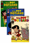 Silver Age (1956-1969):Humor, Little Dot Dotland #4 and 6-63 File Copy Short Box Group (Harvey, 1963-74) Condition: Average VF/NM....