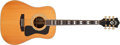 Musical Instruments:Acoustic Guitars, 1990s Guild D-55 Natural Acoustic Guitar #AD551651....