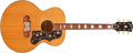 Musical Instruments:Acoustic Guitars, 1999 Gibson SJ-200 Natural Acoustic Guitar, #90819004....