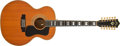 Musical Instruments:Acoustic Guitars, 1975 Guild F-412 Blonde Acoustic Guitar, #129716....