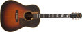 Musical Instruments:Acoustic Guitars, 1945 Gibson Banner SJ Sunburst Acoustic Guitar #561....