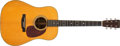 Musical Instruments:Acoustic Guitars, 1952 Martin D-28 Natural Acoustic Guitar #128914....
