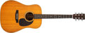 Musical Instruments:Acoustic Guitars, 1966 Martin D-28 Natural Acoustic Guitar #214443....