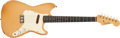 Musical Instruments:Electric Guitars, 1960 Fender Musicmaster Desert Sand Electric Guitar #55575....