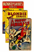 Golden Age (1938-1955):Miscellaneous, Comic Books - Assorted Golden-Modern Age Comics Group (Various, 1940s-'80s) Condition: Average GD.... (Total: 38 Comic Books)