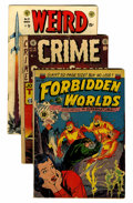 Golden Age (1938-1955):Miscellaneous, Comic Books - Assorted Golden Age Comics Group (Various, 1950s) Condition: Average GD.... (Total: 20 Comic Books)