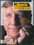 Autographs:Others, Mickey Mantle Signed Upper Deck Authenticated SportsIllustrated....