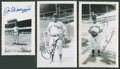 Autographs:Photos, Joe DiMaggio, Allie Reynolds, And Charlie Keller Signed VintageOriginal Photograph Collection....