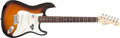 Musical Instruments:Electric Guitars, 2006 Fender Stratocaster 60th Anniversary Edition Sunburst ElectricGuitar #Z6011930....