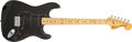 Musical Instruments:Electric Guitars, 1978 Fender Stratocaster Black Electric Guitar #S896939....