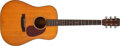 Musical Instruments:Acoustic Guitars, 1965 Martin D-18 Natural Acoustic Guitar, #200543....